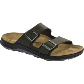 Birkenstock Arizona Sandals Birko-Flor Regular Men, desert soil khaki